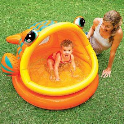 Lazy Fish Inflatable Baby Shade Pool
