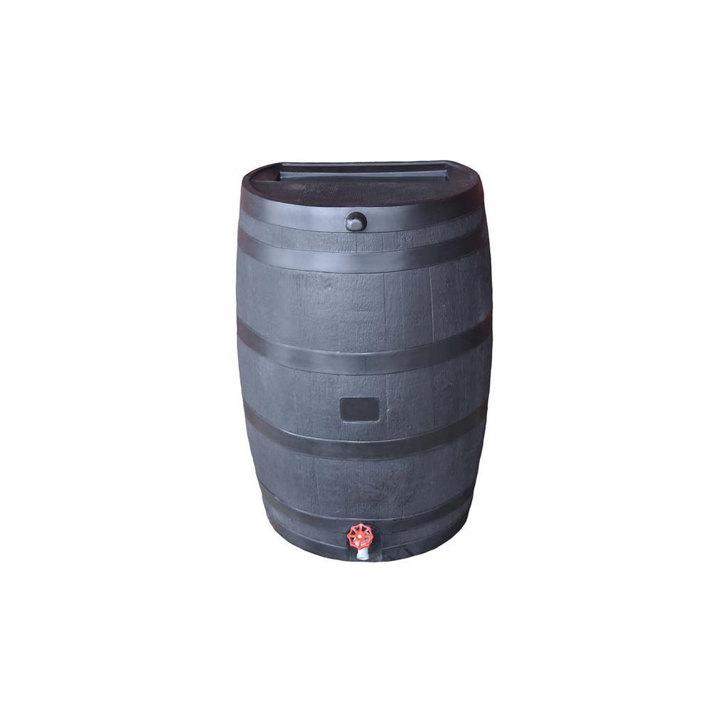 Gardeners Supply Company 4-Port Deluxe Rain Barrel