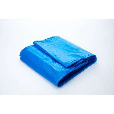 45 Gallon Blue Recycling Bag (100-Count)