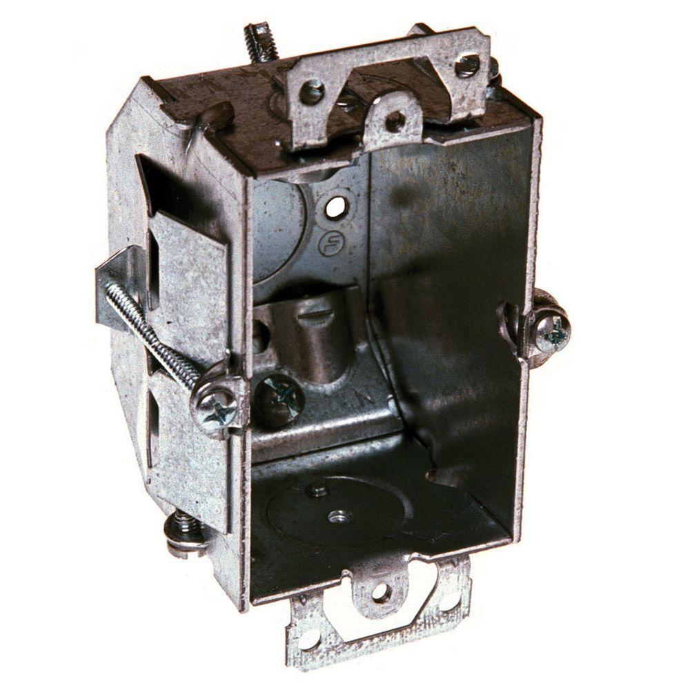 RACO 2-1/4 in. Deep Switch Boxes Gangable with non-metallic Sheathed ...