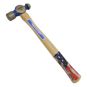 Vaughan 8 Oz Ball Peen Hammer With 11 75 In Hickory Handle Tc308 The Home Depot