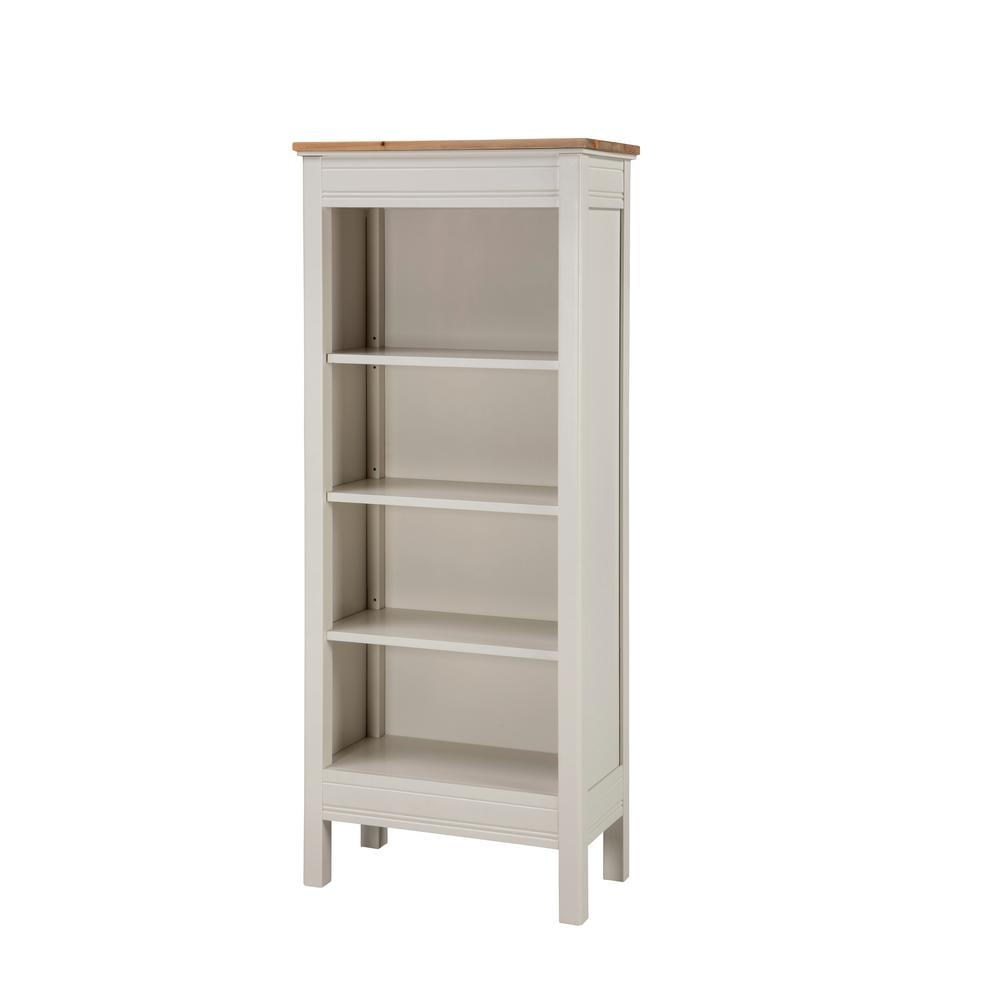 Alaterre Furniture Savannah Ivory With Natural Wood Top