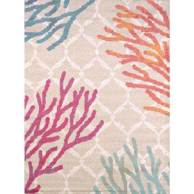 Regional Concepts Tropical Reef Tropical 2 ft. 7 in. x 3 ft. 11 in. Accent Rug