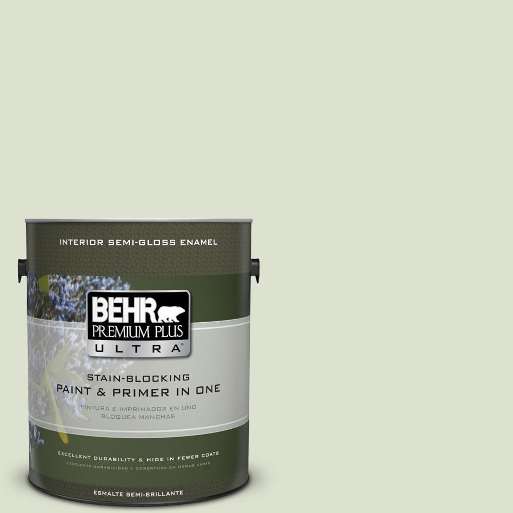 BEHR Premium Plus Ultra 1-gal. #M380-1 Cavan Semi-Gloss Enamel Interior Paint
