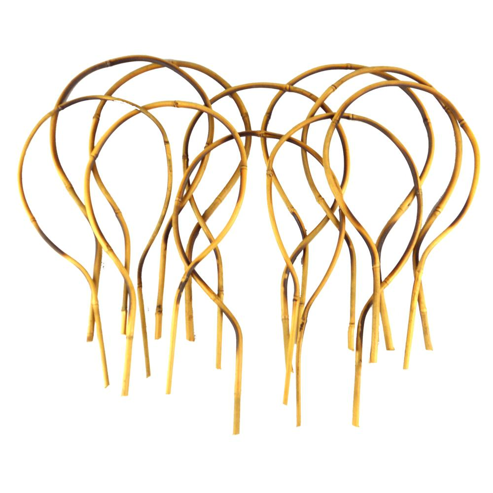 16 in. Bamboo Loop Stakes (10-Pack)