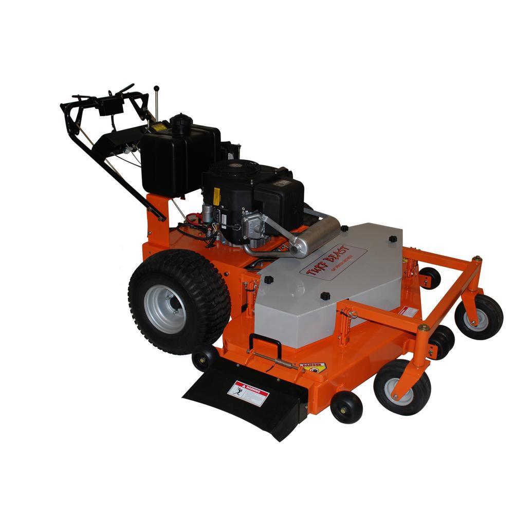 RYOBI 38 in  100 Ah Battery Electric Rear Engine Riding Lawn