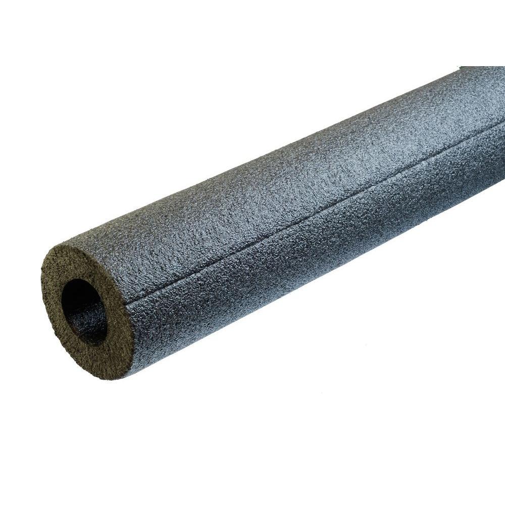 Semi-Slit 3/4 in. ID x 1/2 in. Wall x 6 ft. Long Polyethylene Foam Pipe Insulation - 210 Lin. ft./Carton