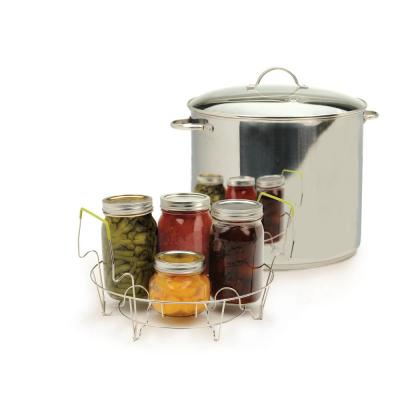Endurance 20 qt. Stainless Steel Canning & Preserving with Glass Lid