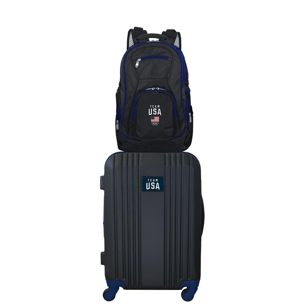 22015a11c9 Mojo Olympics Team USA Olympics 2-Piece Set Luggage and Backpack ...
