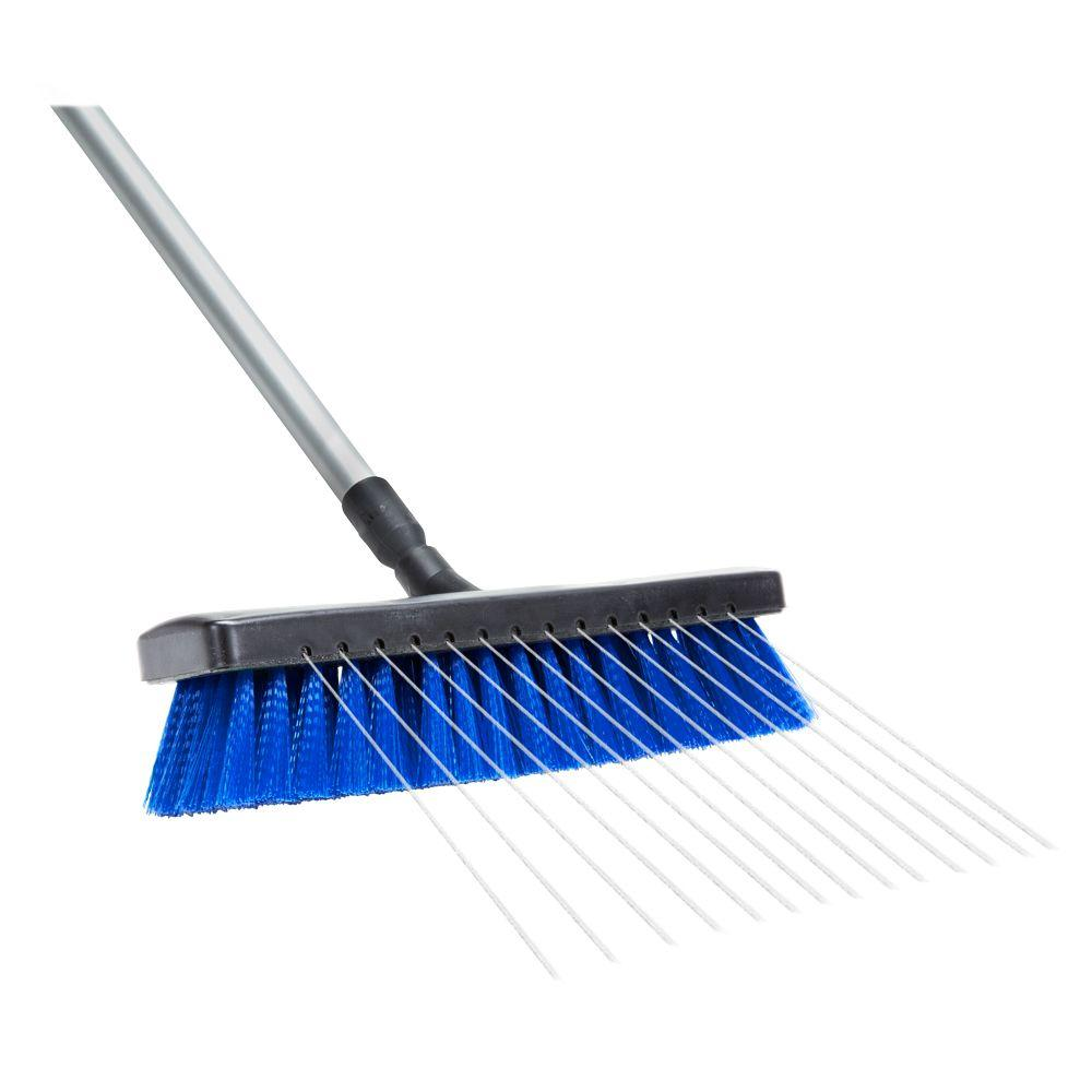HomeRight 13 in. Deck Washer Broom (1-Pack)