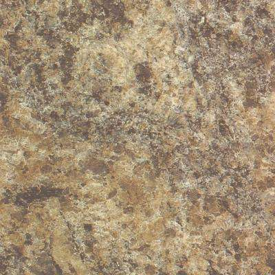 5 in. x 7 in. Laminate Countertop Sample in Giallo Granite with Premiumfx Etchings Finish