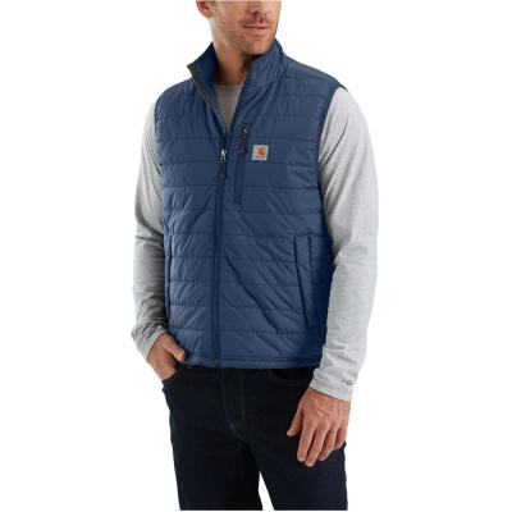 1fc507893ed7 Carhartt Men s XL Tall Moss Black Cotton Mock Neck Vest Sherpa Lined ...
