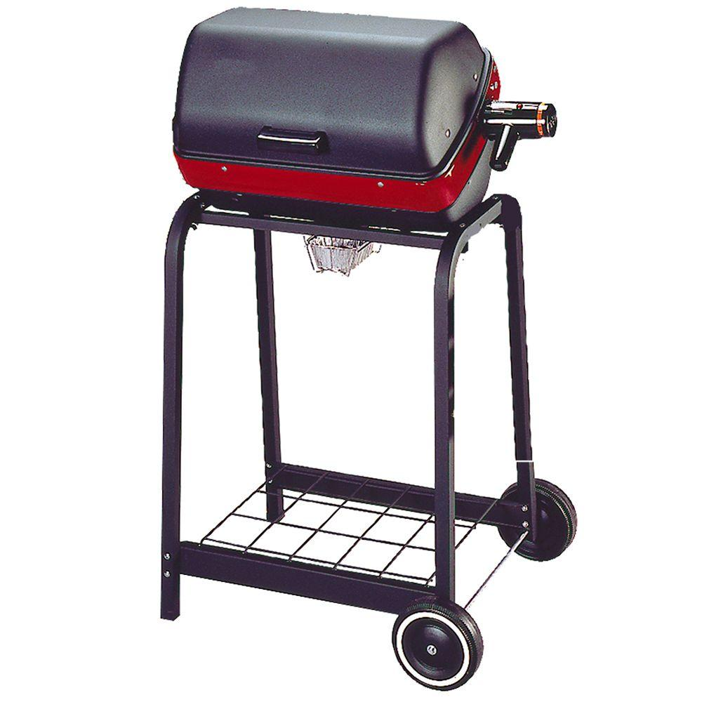 Easy Street Electric Cart Grill in Black