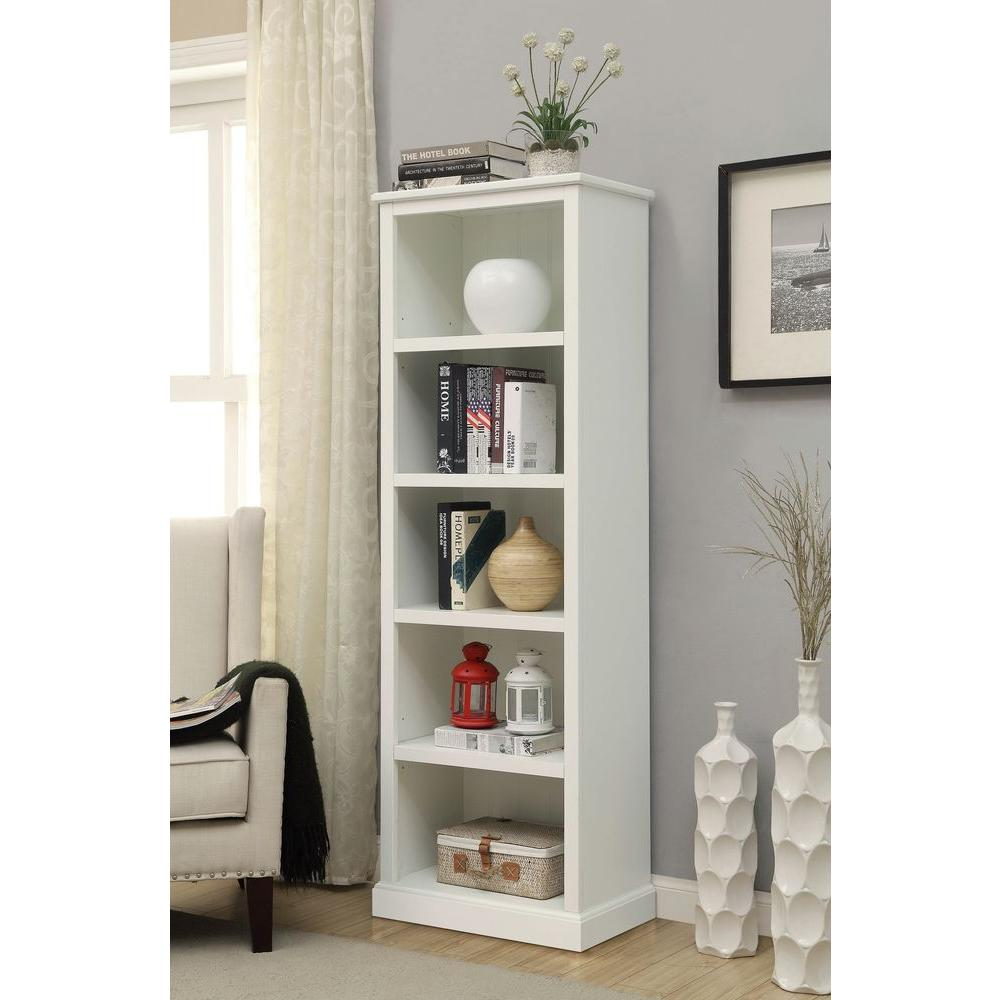 House Bookshelf: Home Decorators Collection Amelia White Open Bookcase