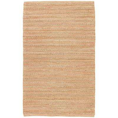 Natural Doeskin 3 ft. x 4 ft. Solid Area Rug