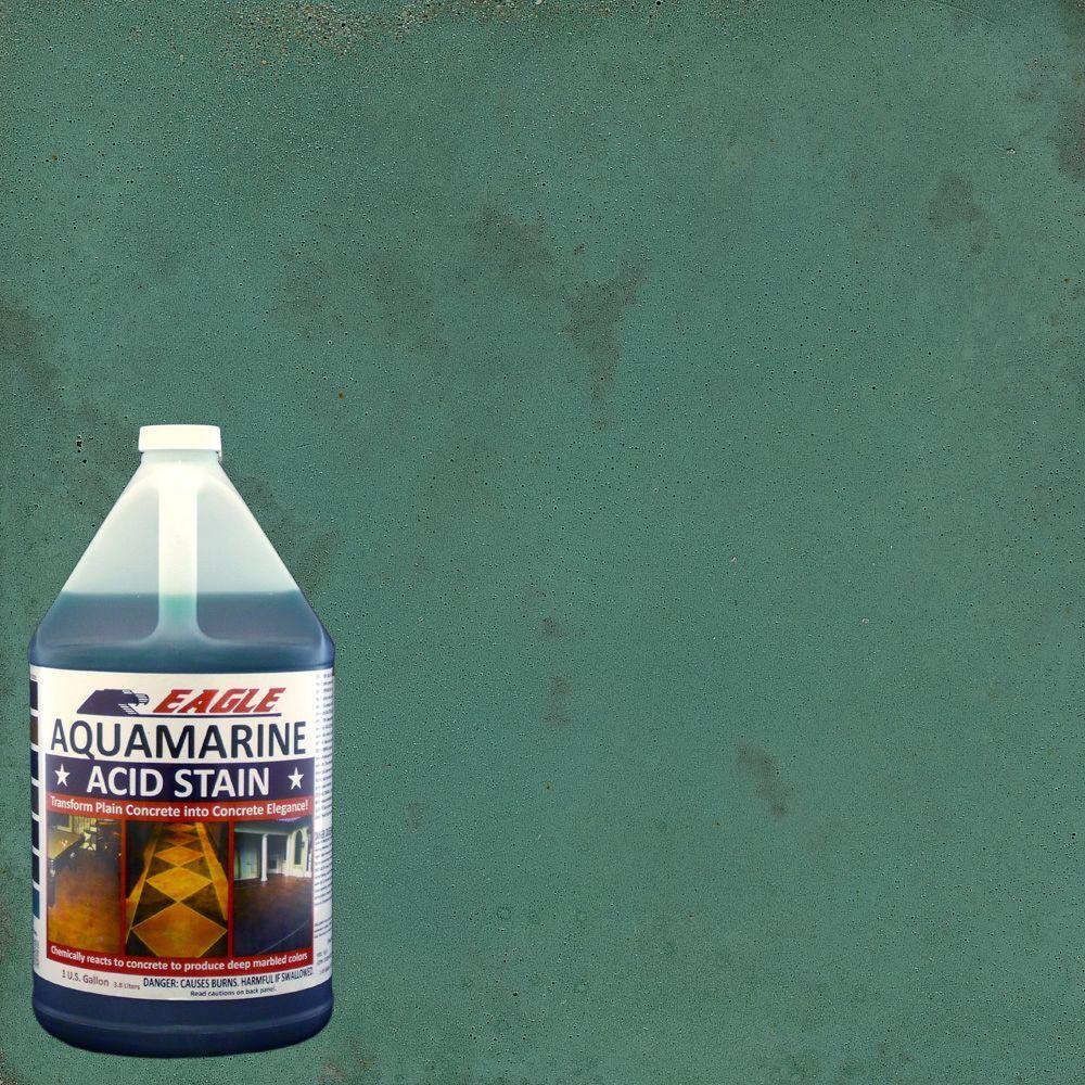 Eagle 1 gal  Aquamarine Interior/Exterior Acid Stain
