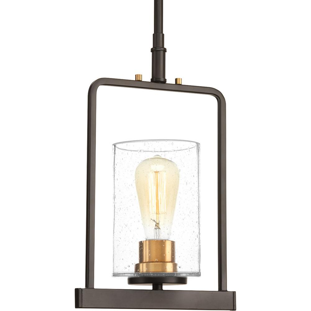 Looking Glass Collection 1-Light Antique Bronze Pendant