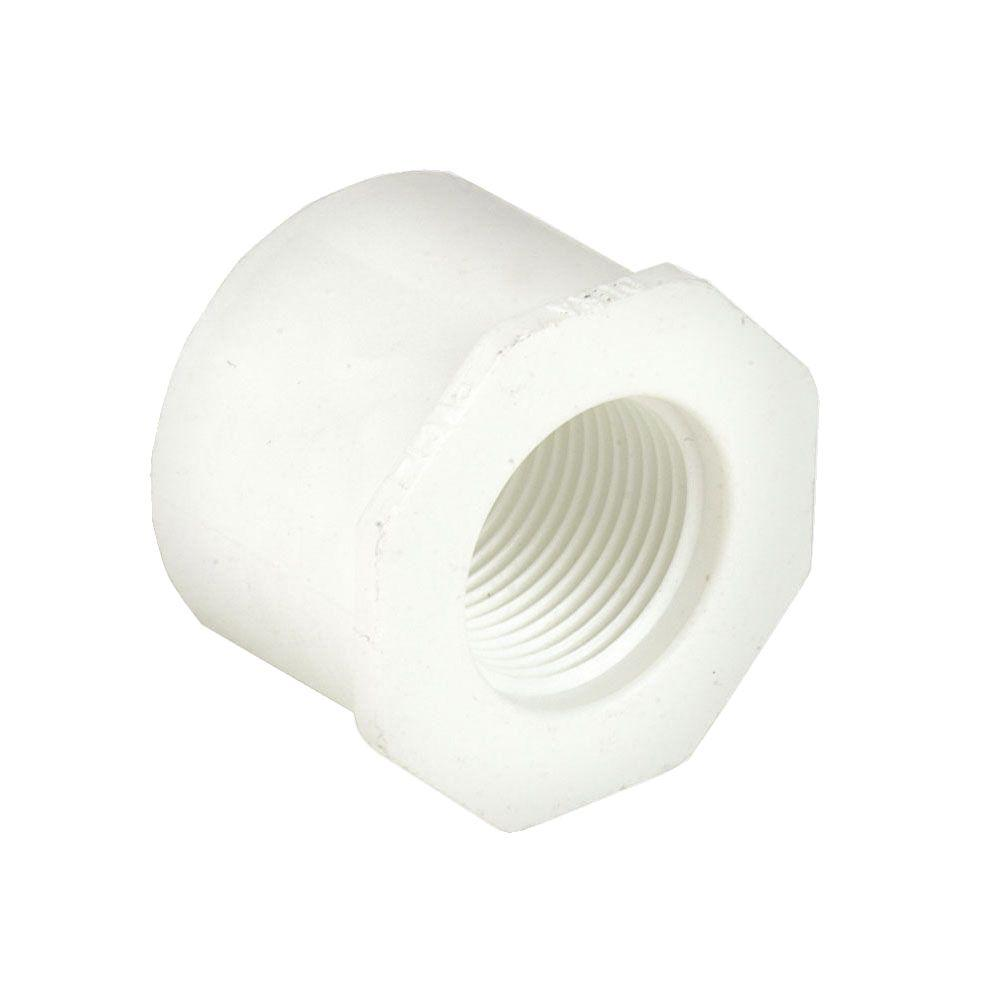 dura 4 in. x 3/4 in. schedule 40 pvc reducer bushing spgxfpt-438-416