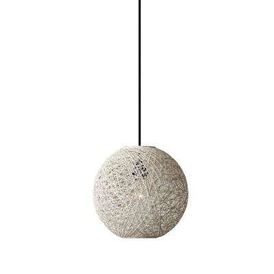 Havana 1 -Light Cream Rattan Pendant