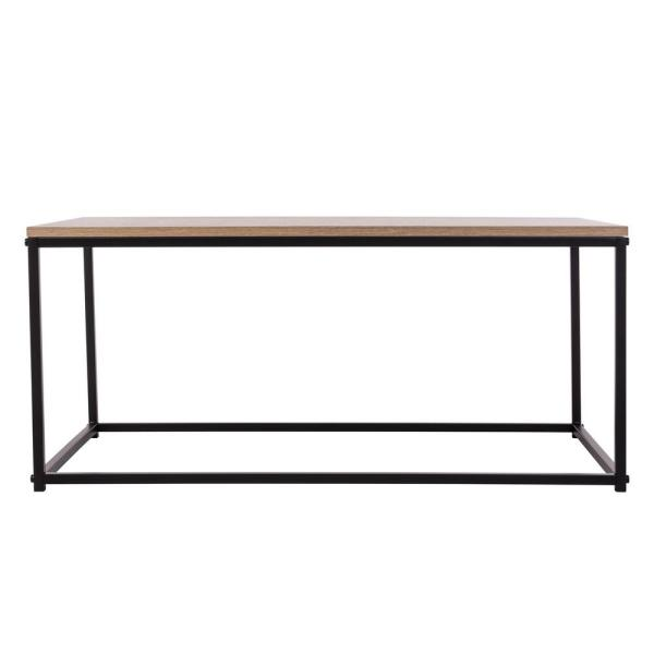 Tribeca 36 in. Weathered Medium Rectangle Wood Coffee Table