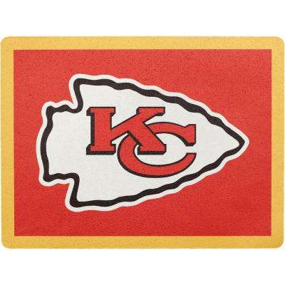 NFL Kansas City Chiefs Address Logo Graphic