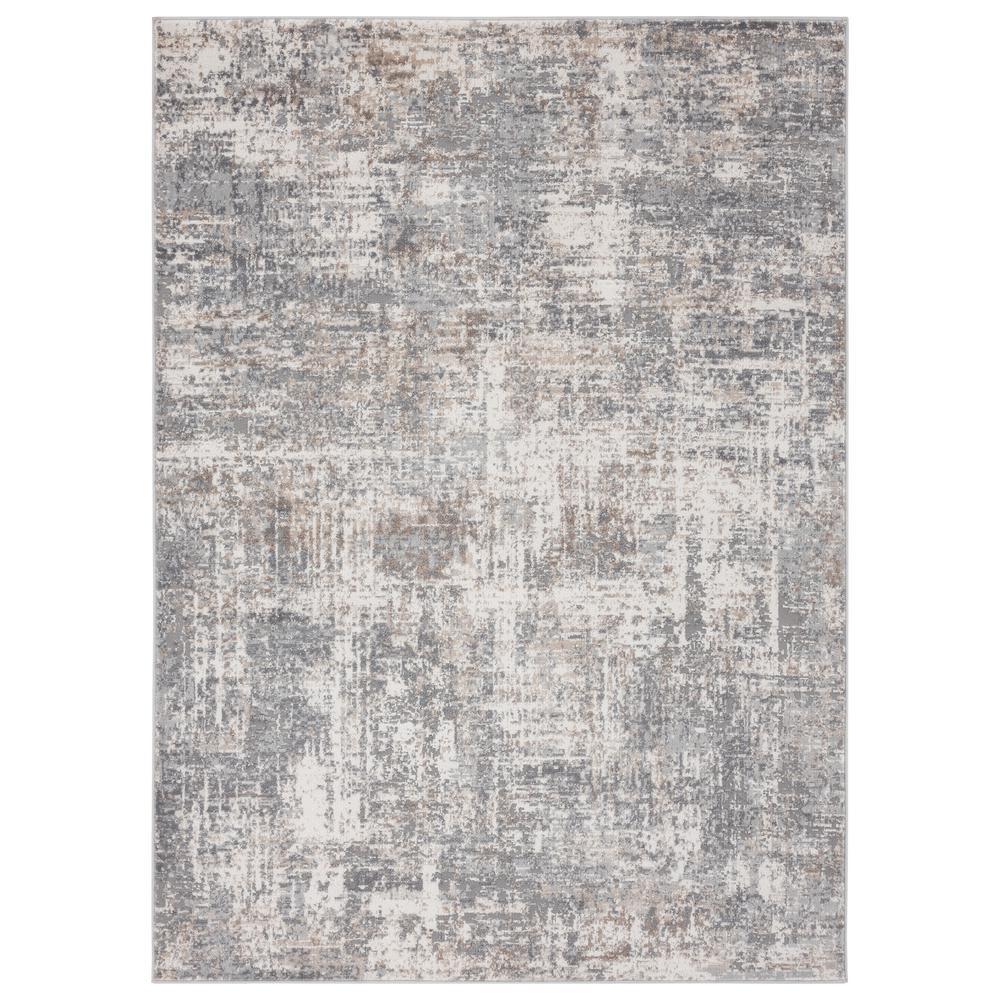 Austin Elegance Grey 5 ft. 3 in. x 7 ft. 2 in. Area Rug