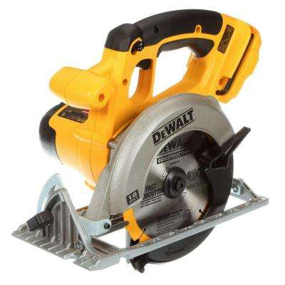 18-Volt NiCd Cordless 6-1/2 in. (165 mm) Circular Saw (Tool-Only)