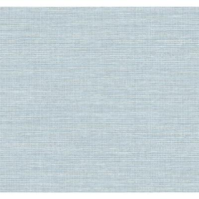 Beachgrass Blue Oasis Coastal Chic Wallpaper