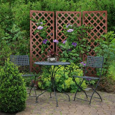 72 in. Wood Diamond Lattice Trellis