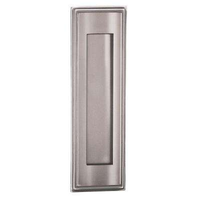 4000 Series 3.5 in. W x 11 in. H x 0.75 in. D Vertical Mail Slot in Chrome Finish