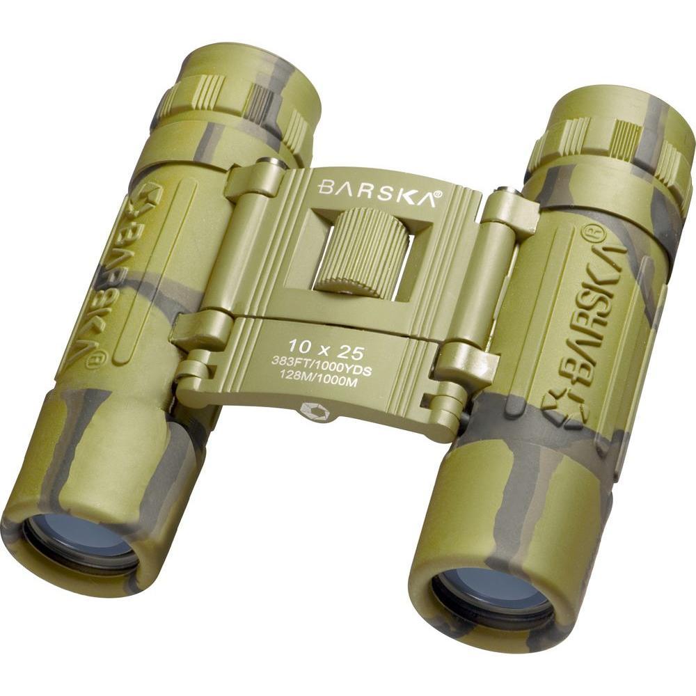 Lucid View 10 mm x 25 mm Camo Binoculars