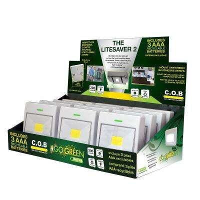 The LiteSaver 2 COB LED Display (12-Piece)