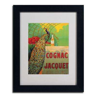 "16 in. x 20 in. ""Cognac Jacquet"" Black Matted Framed Art"