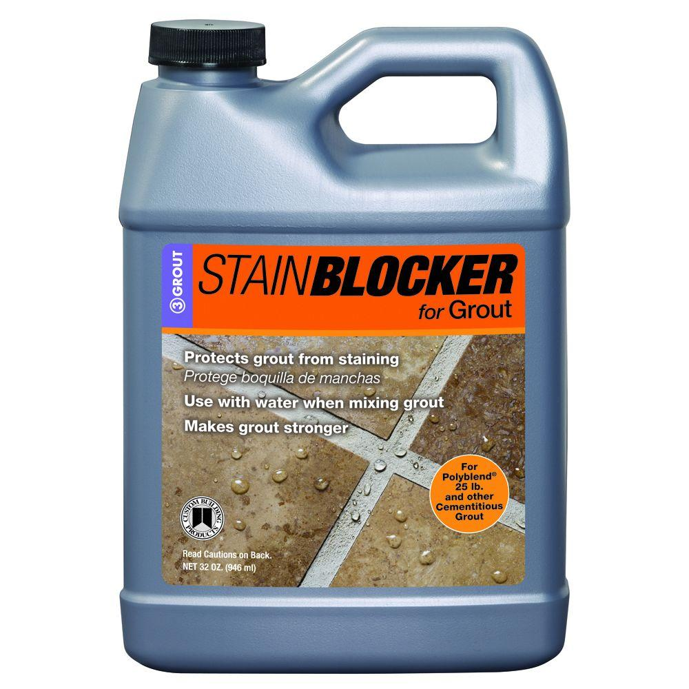 Custom Building Products StainBlocker 32 oz. Additive for Grout ...