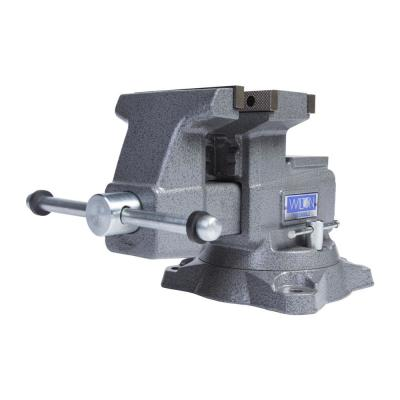 4550R Reversible Bench Vise 5-1/2 in. Jaw Width with 360° Swivel Base