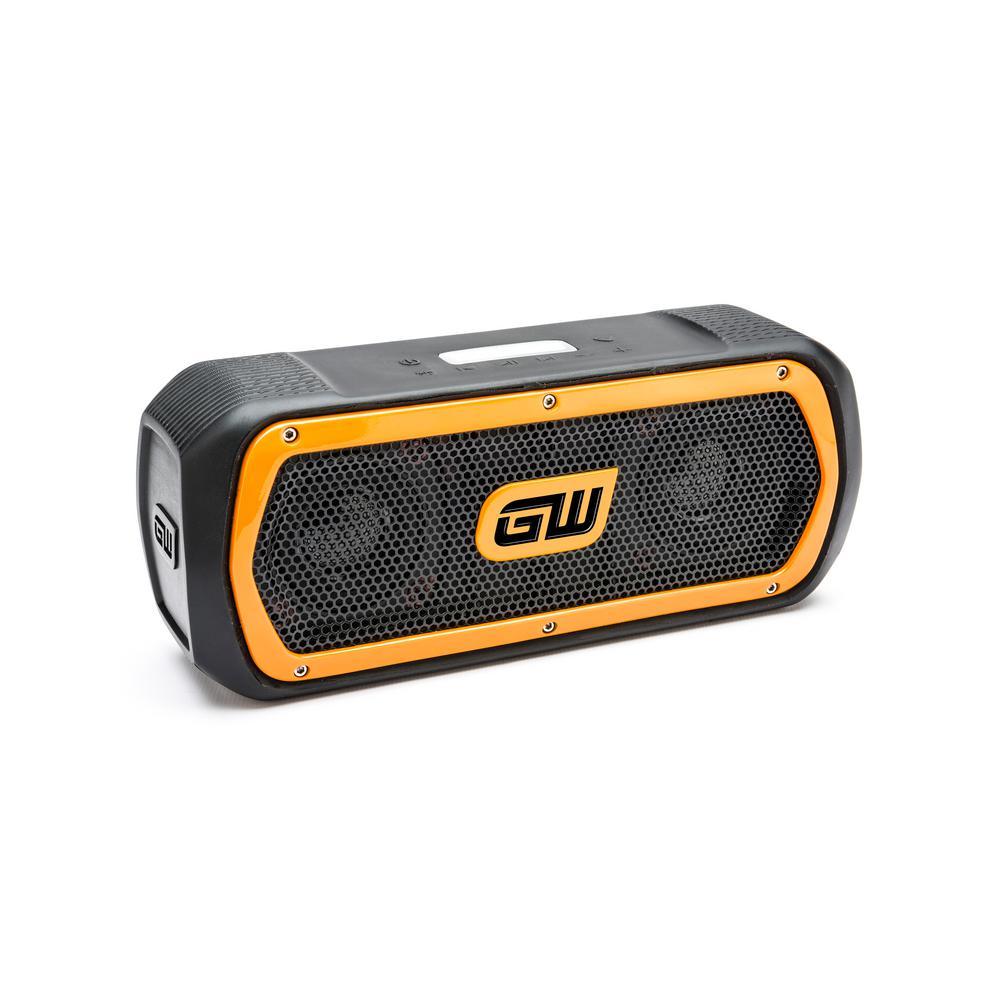 RIDGID 18-Volt Hybrid Jobsite Radio with Bluetooth Wireless