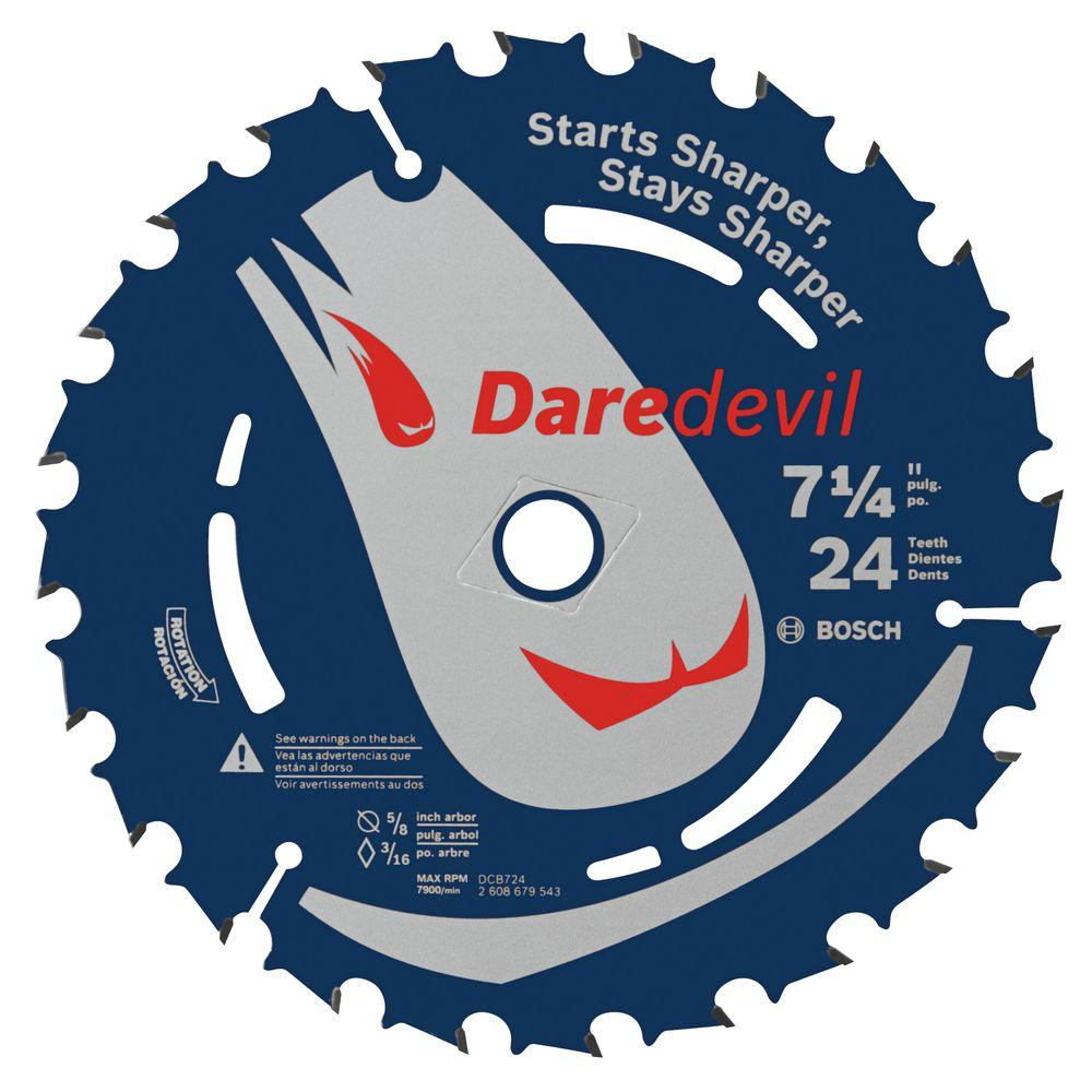 7-1/4 in. 24-Tooth Circular Saw Blade