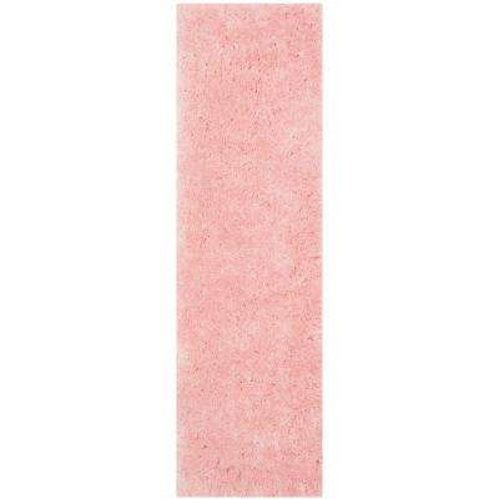 Arctic Shag Pink 2 ft. x 6 ft. Runner Rug