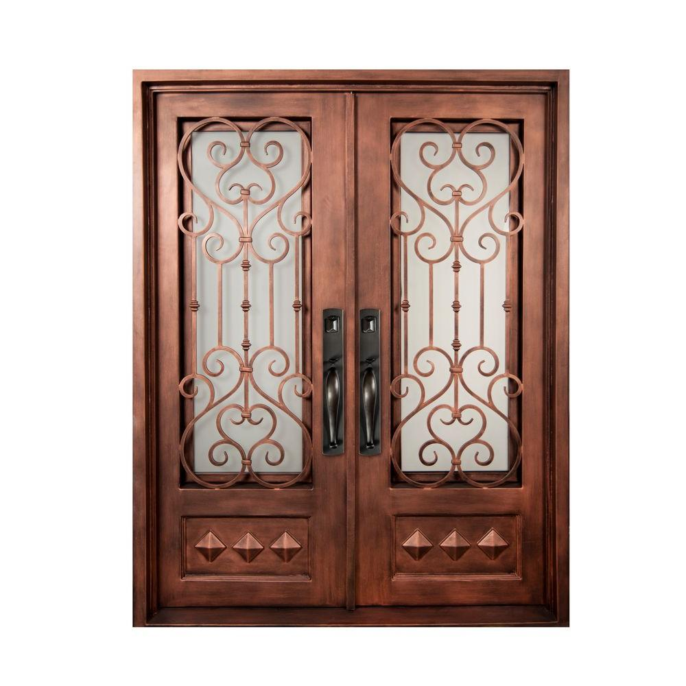 Iron Doors Unlimited 62 In. X 81.5 In. Vita Francese Classic 3/4