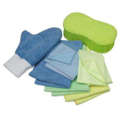 Microfiber Cleaning Kit (7-Piece)