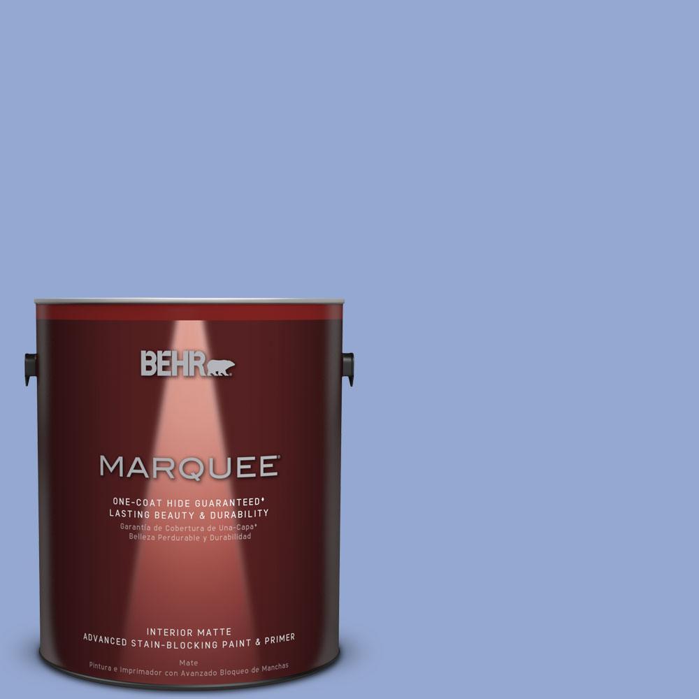 1 gal. #M540-4 Hopeful Dream One-Coat Hide Matte Interior Paint