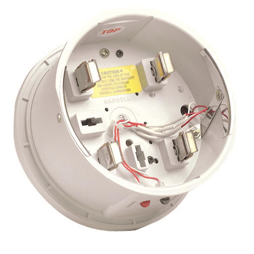 20/240-Volt 200 Amp Outdoor Rated Meter Socket Surge Arrester Adapter in White