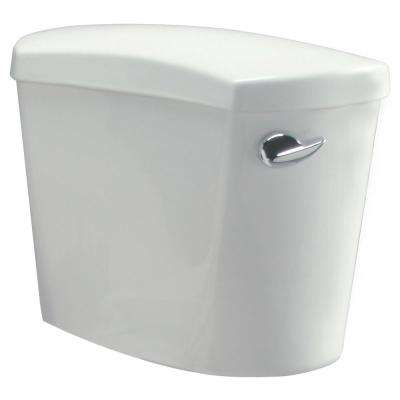 1.6 GPF Single Flush Pressure Assist Toilet Tank Only in White