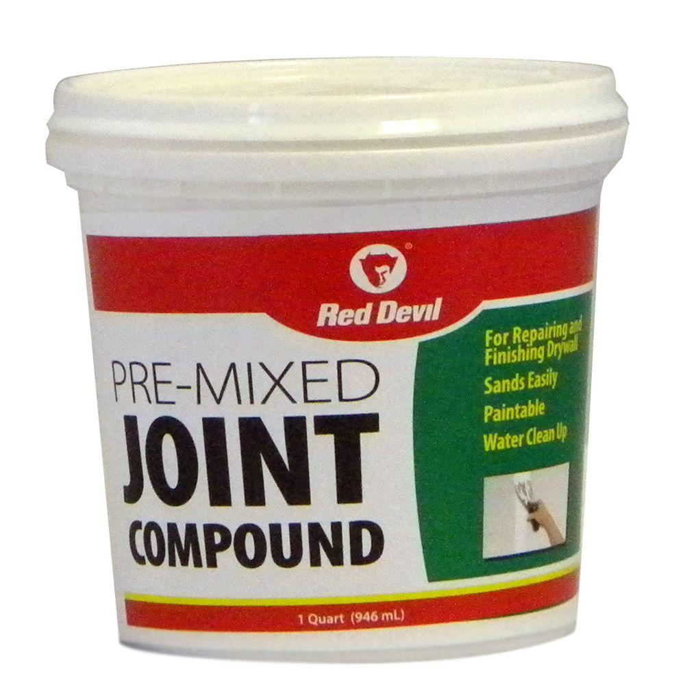 Red Devil 1 qt. Pre-Mixed Joint Compound-DISCONTINUED