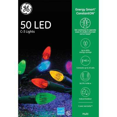 EnergySmart Colorite 50-Light LED Multi-Color C3