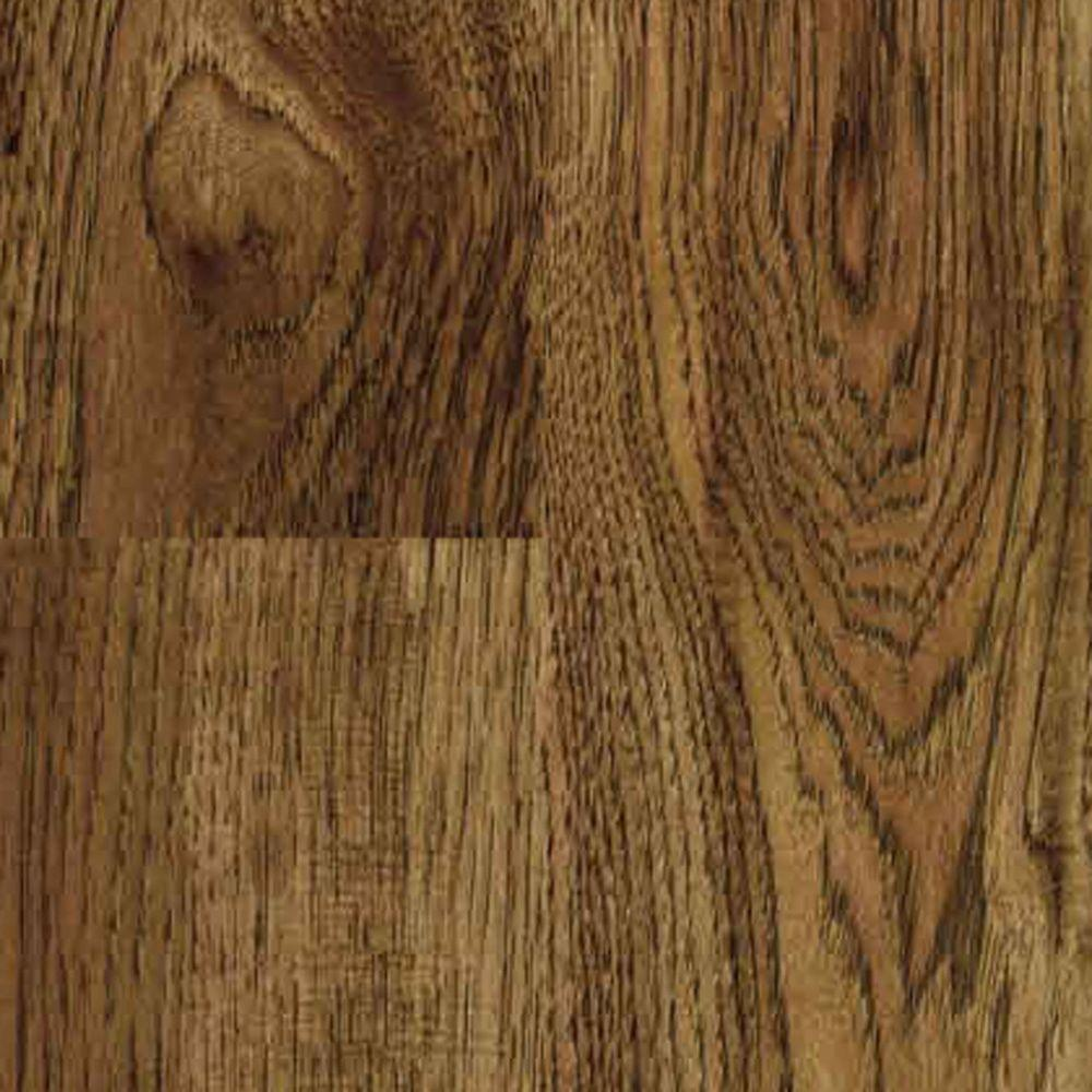 TrafficMASTER Kingston Peak Hickory 8 mm Thick x 7-9/16 in. Wide x 50-3/4 in. Length Laminate Flooring (21.44 sq. ft. / case)