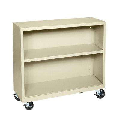 Putty Mobile Steel Bookcase