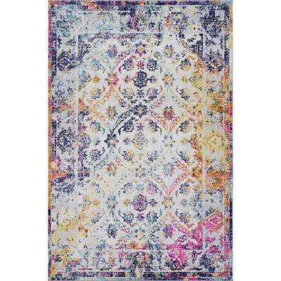 Lorelai Distressed Area Rug (8' x 10')