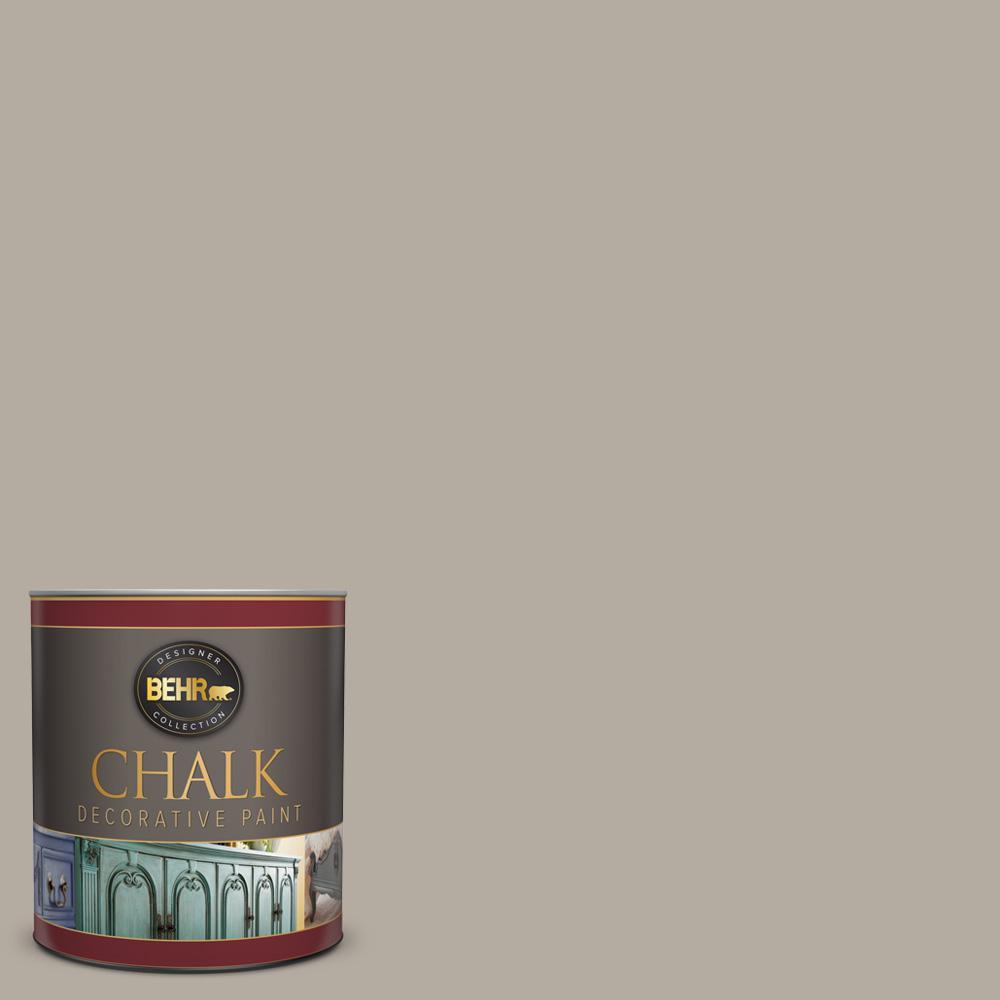 Behr 1 Qt Ppu18 13 Perfect Taupe Interior Chalk Finish Paint