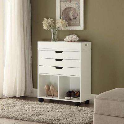 white with distressed narrow drawers table small entry entryway